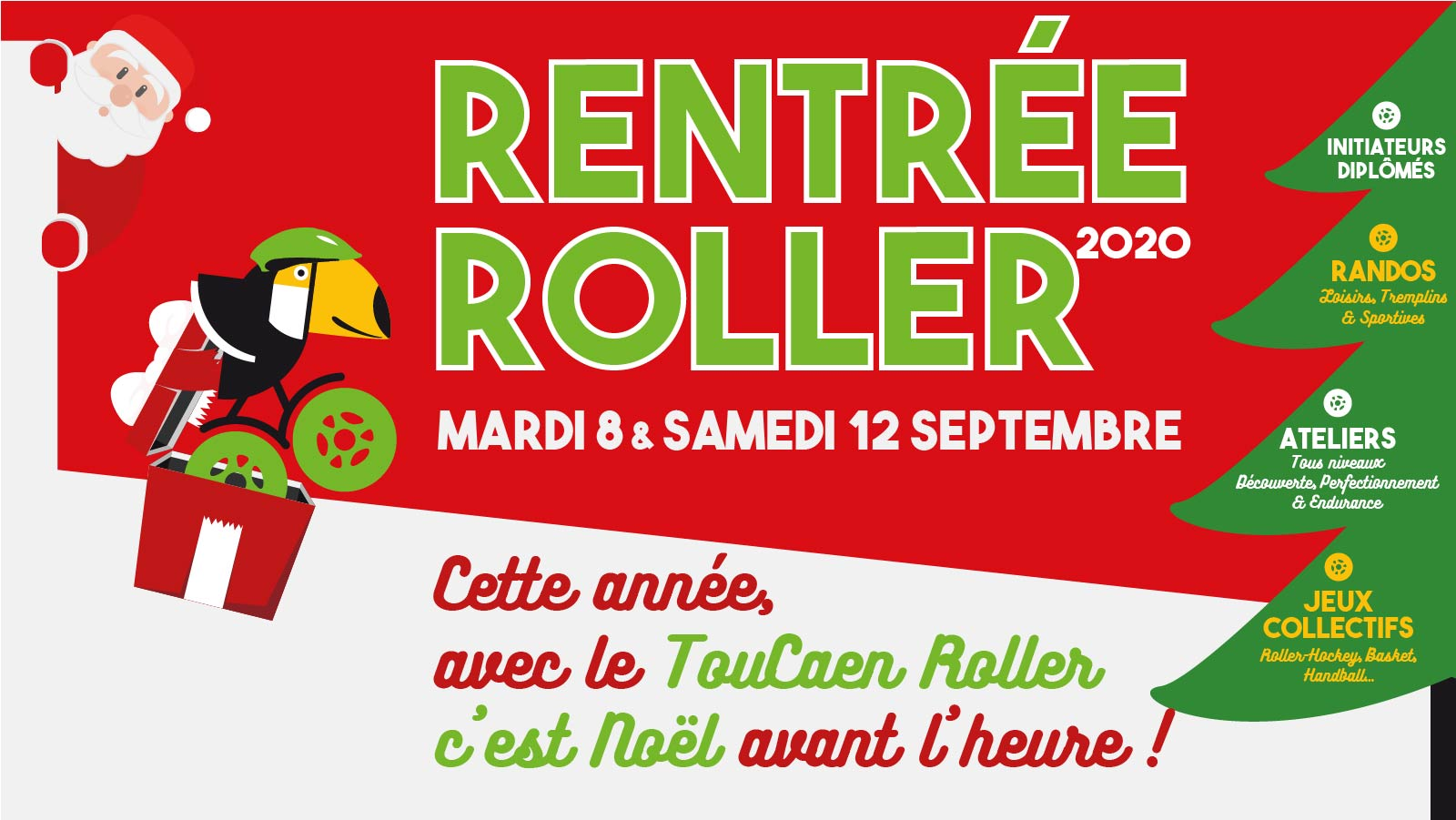 Rentrée TouCaen Roller Inscriptions